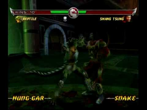 Mortal Kombat: Deadly Alliance - Reptile (Alternate Costume) - 2/2
