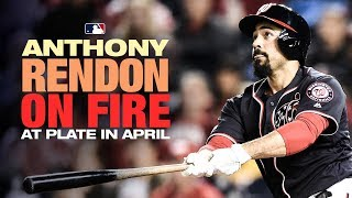 Best all-around hitter in baseball? Rendon dominated April