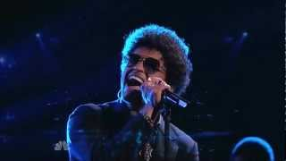 Repeat youtube video The Voice-When I was your man Bruno Mars