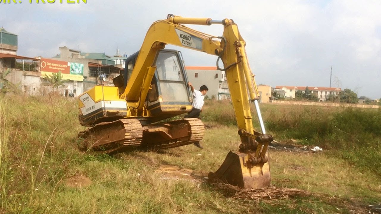 Mr Truyen / Máy Xúc KOBELCO Màn Biểu Diễn Và Thử Máy Xúc / KOBELCO Excavator
