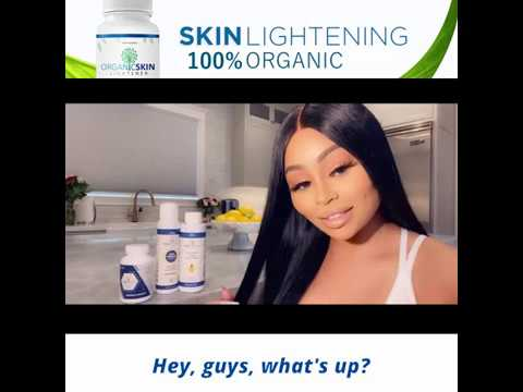 ⭐ Celebrity Blacc Chyna for Organic Skin Lightener by Sciential
