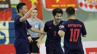 HIGHLIGHTS | AFF FUTSAL CHAMPIONSHIP 2019 | SEMI-FINAL | THAILAND - VIETNAM