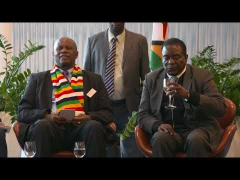 Zimbabwe Investor Luncheon in Switzerland with President Emmerson Mnangagwa January 26th, 2018