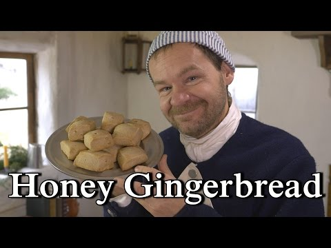 1796 Honey Gingerbread 18th century cooking with Jas Townsend and Son S5E16