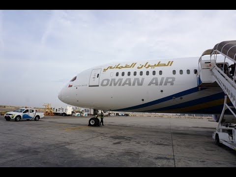 OMAN AIR  , NEW ,  BUSINESS CLASS ,  B787-9, CDG TO MCT , (Paris to Muscat)  TRIP REPORT