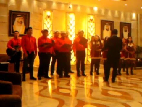 christmas carols emirates grand hotel