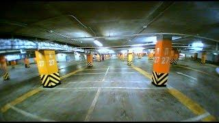 Полёты в подземном паркинге