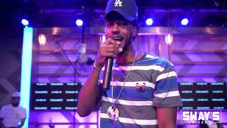 """Maez Breaks Down Music Strategy and Performs """"On One"""" & """"No Rest"""" Live   SWAY'S UNIVERSE"""