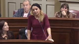 Noemí Santana (Podemos) sobre el Anteproyecto de Ley de la Policía Canaria