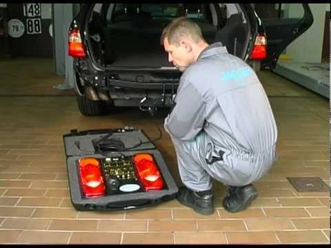 electric wiring kit install MB E-Class Estate step by step - YouTube