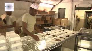 Army Cooks at Forward Operating Base Salerno Afghanistan