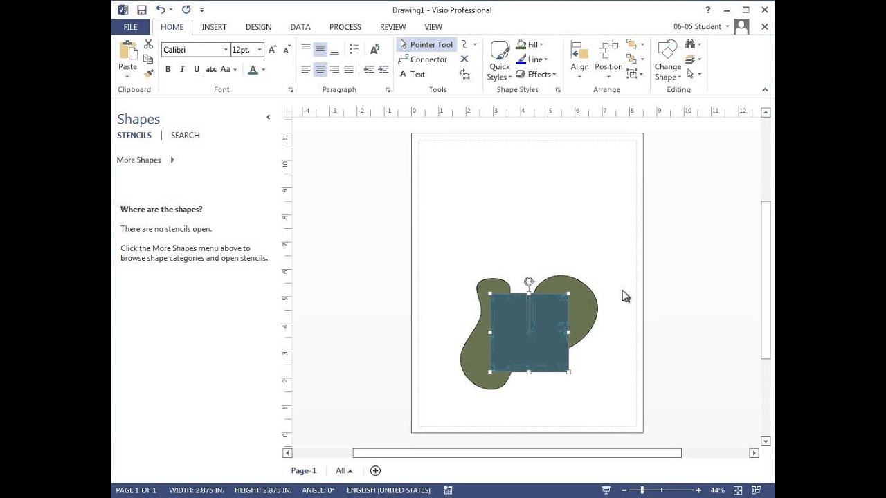Visio 2013 modify group and combine shapes youtube visio 2013 modify group and combine shapes ccuart Image collections