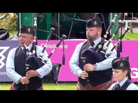 Shotts and Dykehead | Medley @ 2017 World Pipe Band Championships