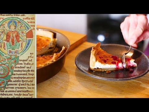 cheesecake-comme-au-xivème-siècle-en-angleterre-(recette-d'époque-ou-presque)
