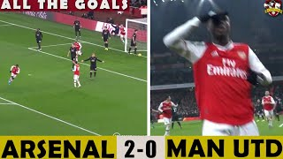 SOLSKJAER OUT NOW! Arsenal 2-0 Manchester United