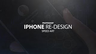 Photoshop- Iphone Home Screen Re-Design Speed art