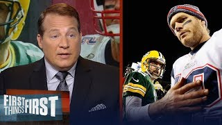 Eric Mangini on why Tom Brady is better than Aaron Rodgers | NFL | FIRST THINGS FIRST