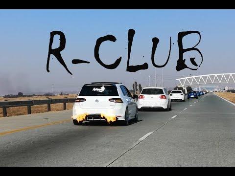 VolksWagen R-club Run + Drag racing - VW R convoy video+full raceday - #VirtuallyVids