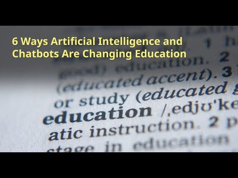 Automatic Essay Marking ...Artificial Intelligence and Chatbots Are Changing Education