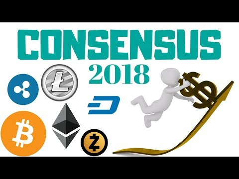 Consensus 2018 - Will Crypto's Rise? - Charts and Chat LIVE