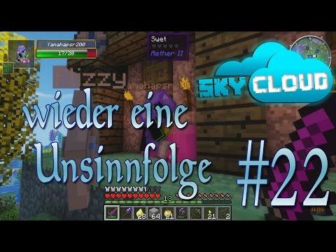 wieder eine Unsinnfolge in Minecraft Sky Cloud - Aether II #22