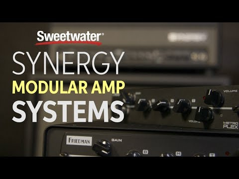 Synergy Modular Amp Systems Overview