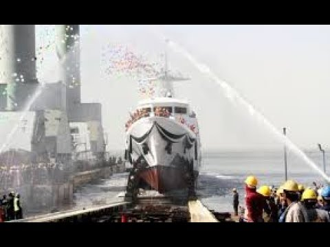 Pakistan Navy Launches 600 Tonnes Maritime Patrol Vessel 2017