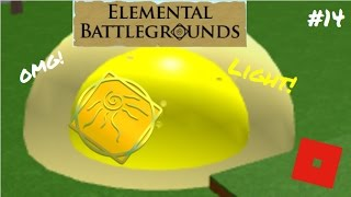 Light-Bending! | Roblox: Elemental Battleground | #14