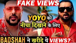 Pagal Song Fake Views Badshah | Badshah Fake Views Fake Followers | Yo Yo Honey Singh Vs Badshah