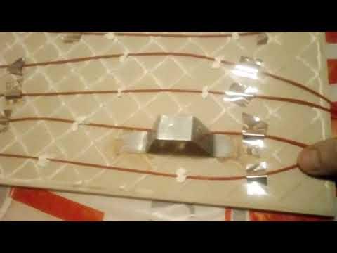 видео: Дешевое отопление в частном доме 2. Керамическая греющая панель своими руками.