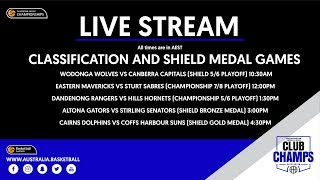#ClubChamps Live | Day 6 Livestream (Classification Games and Shield Division Medal Games)
