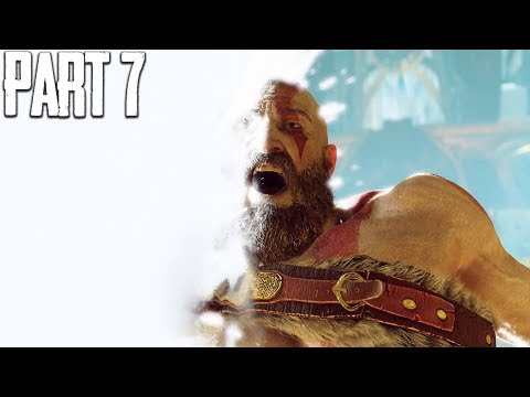 KRATOS ENTERS THE LIGHT - God of War Walkthrough Gameplay Part 7
