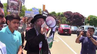 'Walk for Freedom/Walk Against Israel' Demonstration