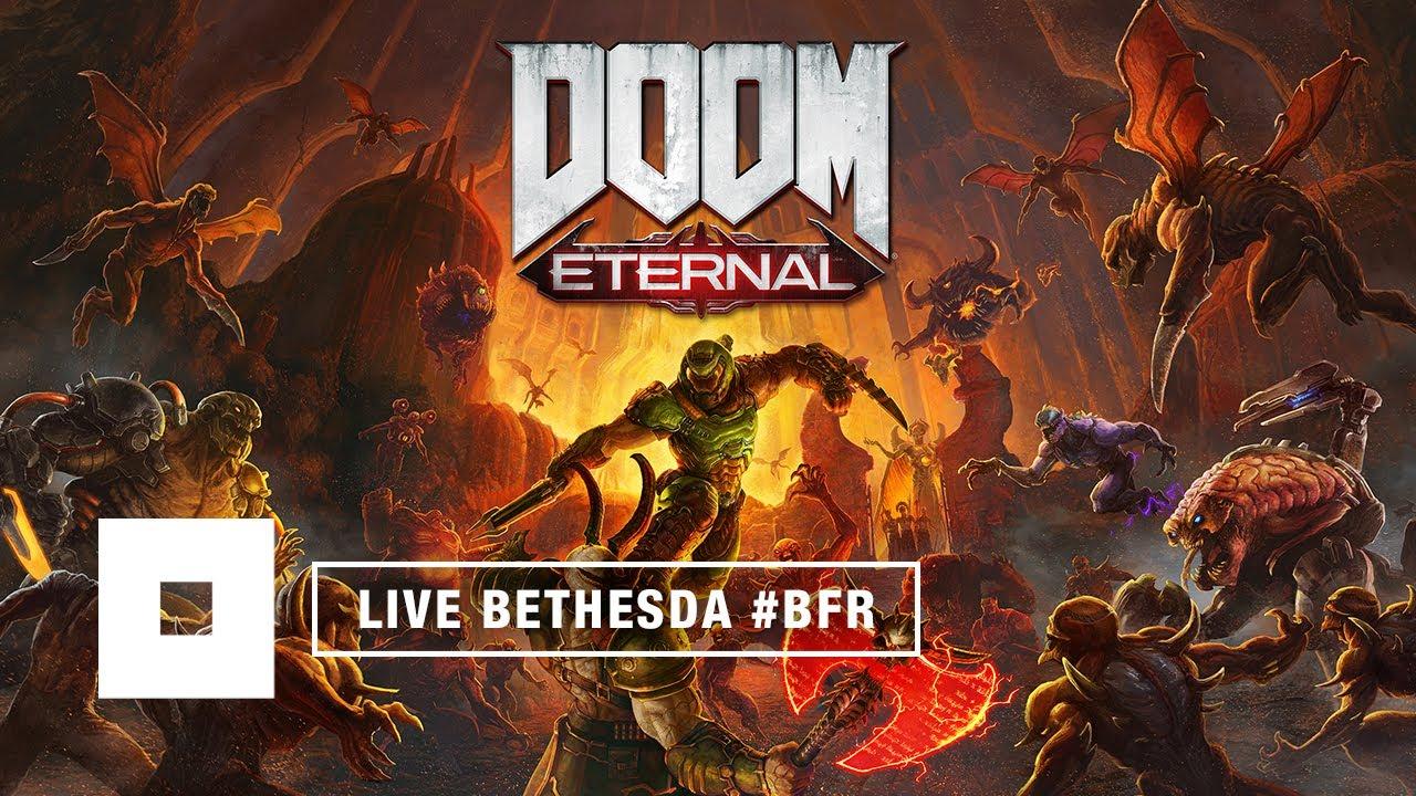 Bethesda Games 2020.Bethesda France Joue En Live Doom Eternal