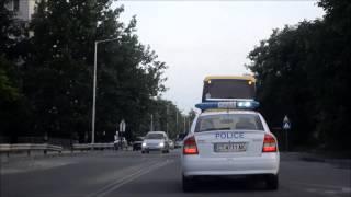 Полиция ескортира Ботев