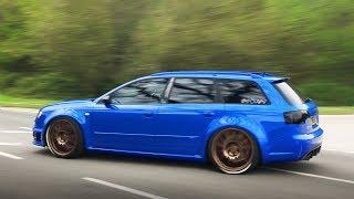 Fast Audis Leaving a Car Show - April 2018