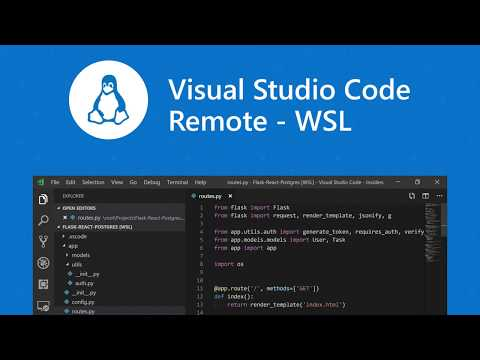 Visual Studio Code Remote - WSL