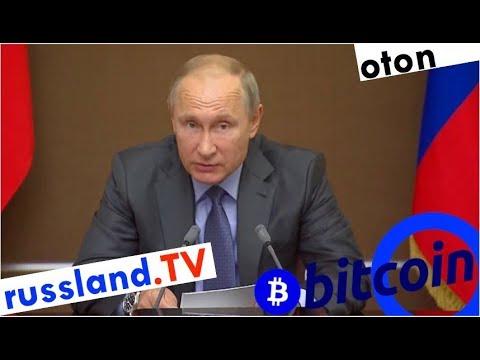 Putin über Bitcoin auf deutsch