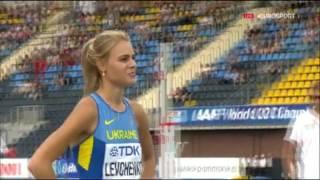 Юлия Левченко, бронза чемпионата мира U-20 в прыжках в высоту. 1-86 и неудачная на 1-89