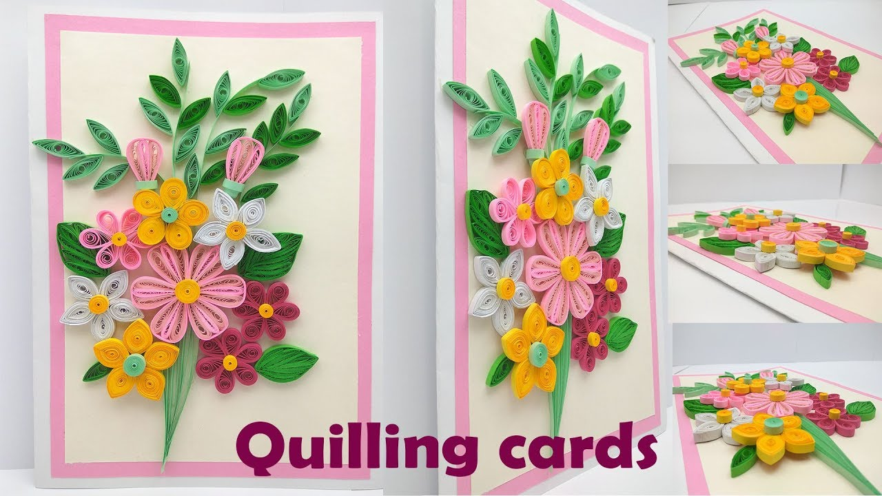 Quilling how to make a birthday gift greeting card youtube quilling how to make a birthday gift greeting card m4hsunfo