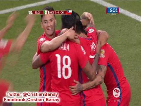 Chile 7 Mexico 0  (Columbia Radio) Copa America Centenario 2016