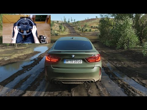 Forza Horizon 4 - 900HP BMW X6 M - OFF-ROAD With THRUSTMASTER TX + TH8A - 1080p60FPS