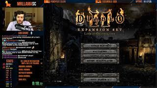 Diablo 2 - Hell HC Paladin Speedrun (01/17/2019)