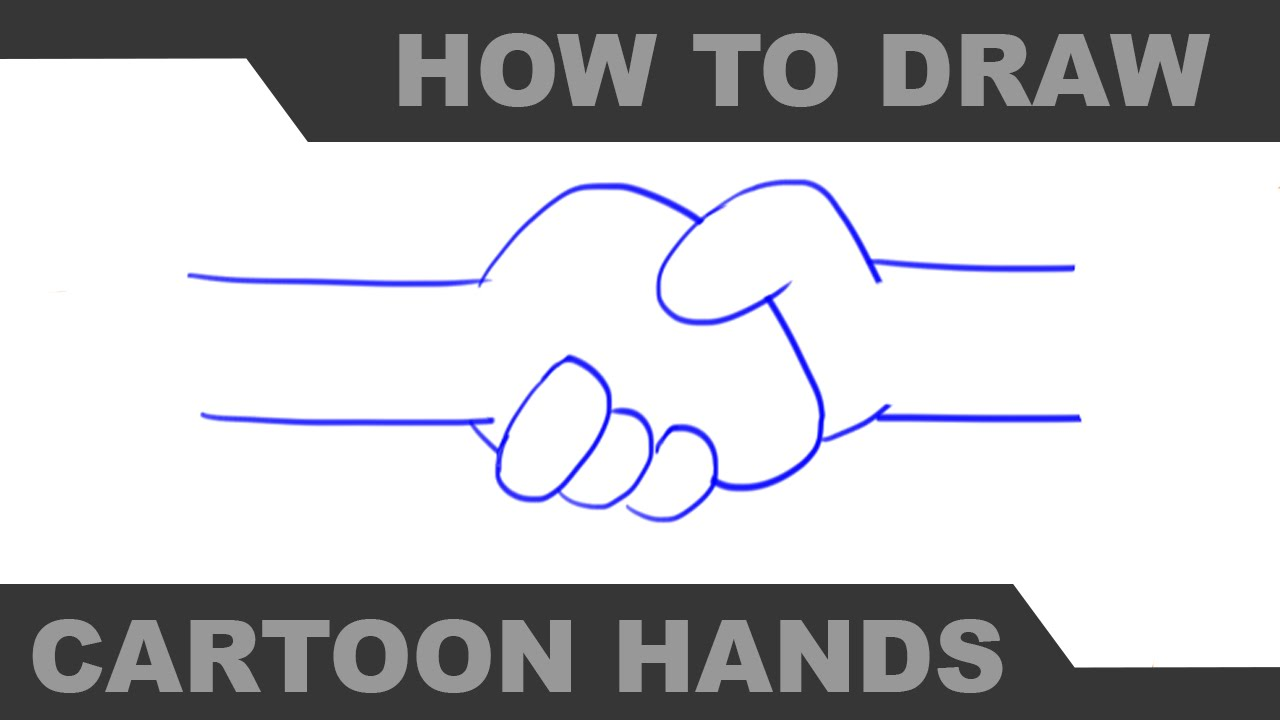 How To Draw Cartoon Hands Part 3 Mr H Youtube