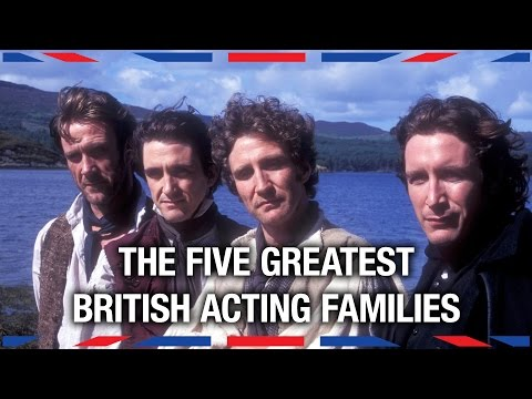5 Greatest British Acting Families - Anglophenia Ep 11