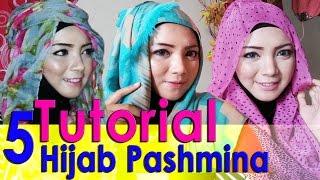 5 Video Cara Memakai Jilbab Pashmina by  AWMCollection