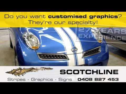 Scotchline Car Graphix commercial
