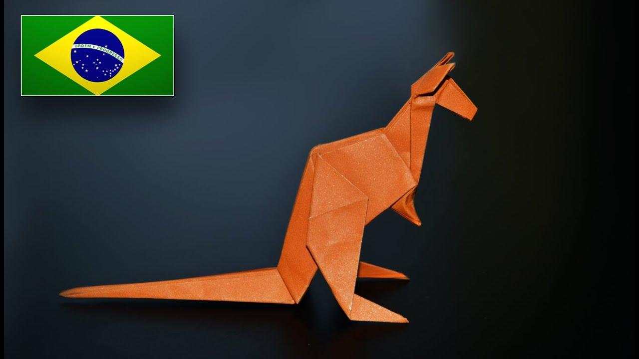 Papercraft Origami: Canguru ( Jo Nakashima ) - Instruções em Português PT BR