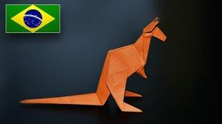 Origami: Canguru ( Jo Nakashima ) - Instruções em Português PT BR