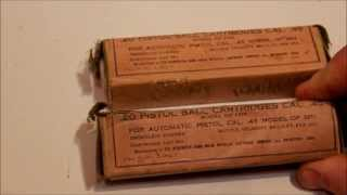(0.18 MB) Firing 96 years old 45 acp made in 1918 Mp3